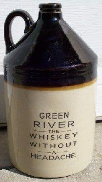Green River Whiskey Jug -- Fake