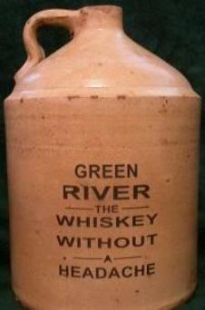 Fake Green River Whiskey Jub (Size Unknown)