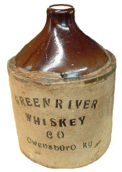 "Fake Green River Whiskey Jug (10.5"" X 7.25"")"