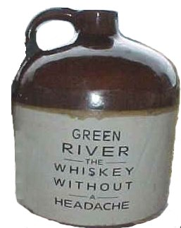 Fake Green River Jug
