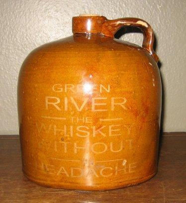 Fake Green River Whiskey Jug