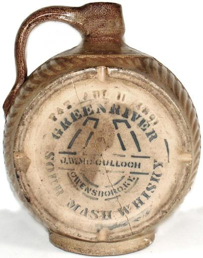 Genuine Green River Whiskey Jug